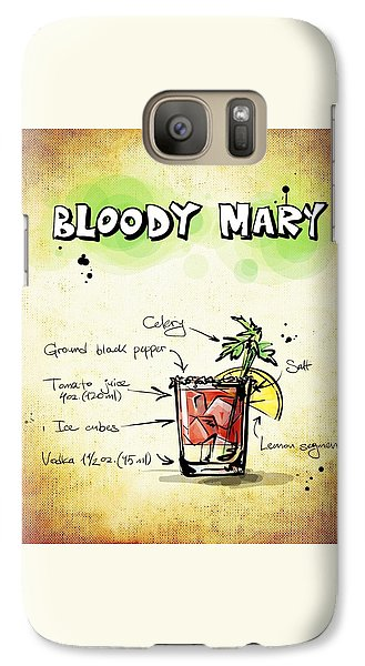 Bloody Mary Galaxy S7 Case by Movie Poster Prints