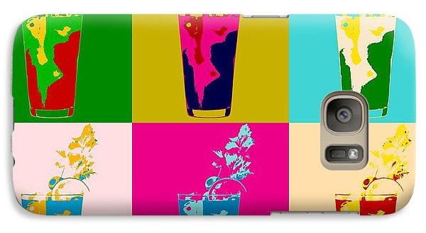 Bloody Mary Pop Art Panels Galaxy S7 Case