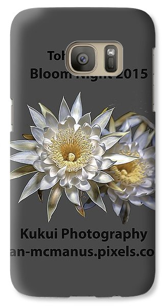 Galaxy Case featuring the photograph Bloom Night T Shirt by Dan McManus