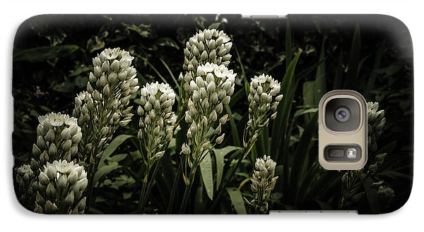 Galaxy Case featuring the photograph Blooming In The Shadows by Marco Oliveira