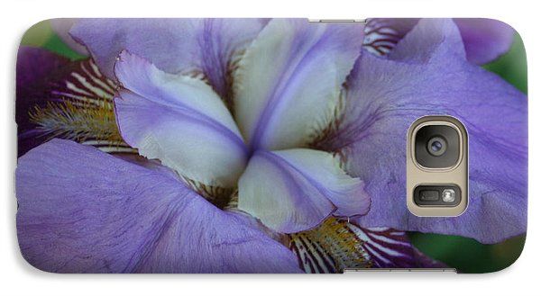 Galaxy Case featuring the digital art Blooming Iris by Barbara S Nickerson