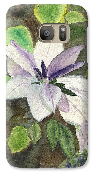 Galaxy Case featuring the painting Blossom At Sundy House by Donna Walsh