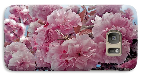 Galaxy Case featuring the photograph Blossom Bliss by Gwyn Newcombe