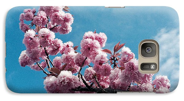 Galaxy Case featuring the photograph Blossom Impressions by Gwyn Newcombe