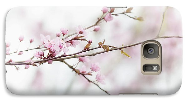 Galaxy Case featuring the photograph Blossom Pink by Rebecca Cozart