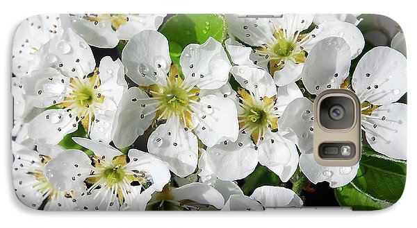 Galaxy Case featuring the photograph Blossoms by Elvira Ladocki