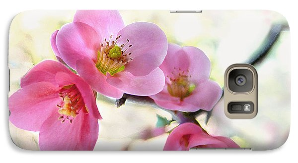 Galaxy Case featuring the photograph Blossoms by Marion Cullen