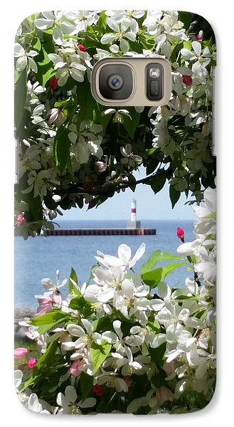 Galaxy Case featuring the photograph Blossoms by Wendy Shoults