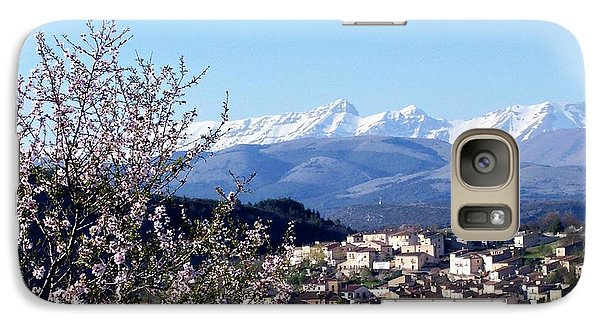 Galaxy Case featuring the photograph Blossoms With A View by Judy Kirouac