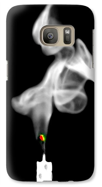 Galaxy Case featuring the photograph Blow Out by Diana Angstadt