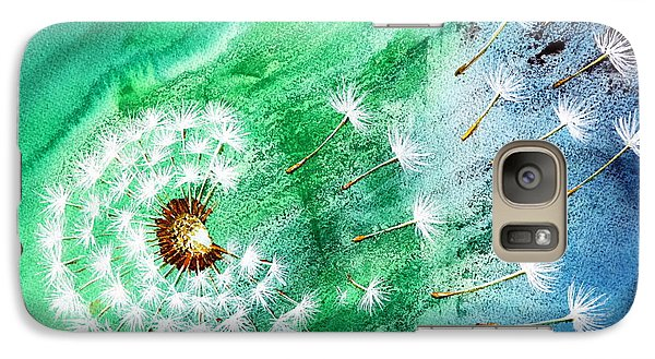 Galaxy Case featuring the painting Blown Away by Maria Barry