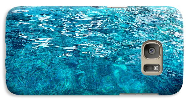 Galaxy Case featuring the photograph Blue And White by Mike Ste Marie
