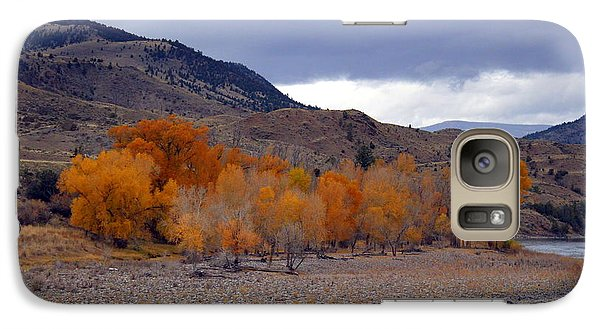 Galaxy Case featuring the photograph Blue And Yellow  by Irina Hays