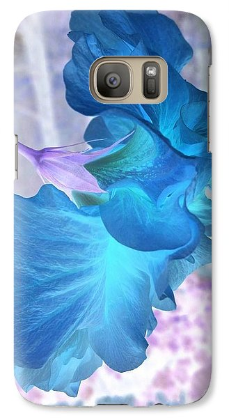 Galaxy Case featuring the photograph Blue Angel  by Cathy Dee Janes