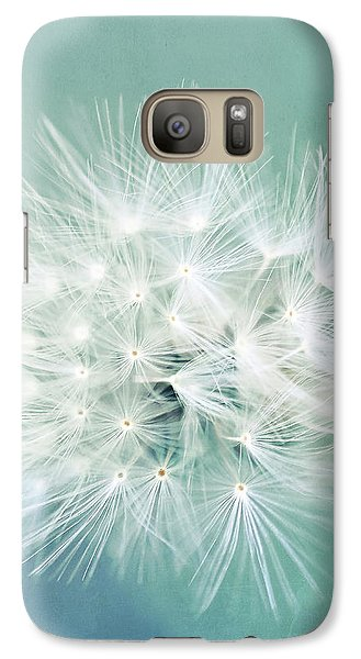 Galaxy Case featuring the photograph Blue Awakening by Trish Mistric