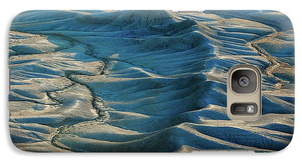 Galaxy Case featuring the photograph Blue Badlands by Johnny Adolphson
