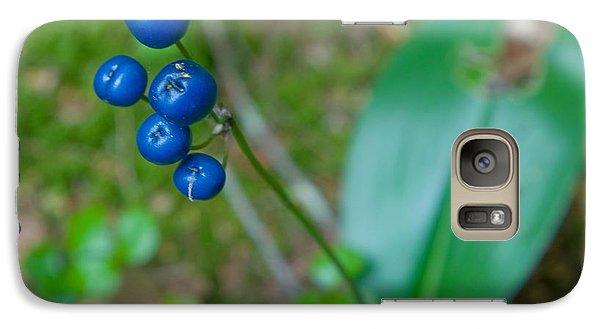 Blue Berries Galaxy S7 Case