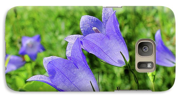 Galaxy Case featuring the photograph Hairbell - Campanula Rotundifolia by Blair Wainman