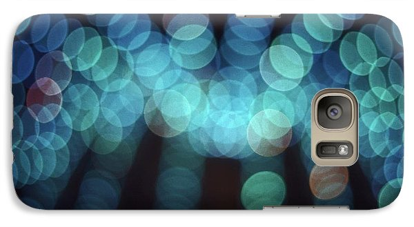 Galaxy Case featuring the photograph Blue Boogie by Laurie Stewart
