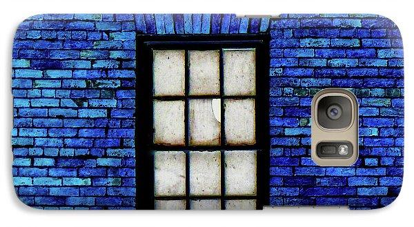 Galaxy Case featuring the digital art Blue Brick by Robert Geary