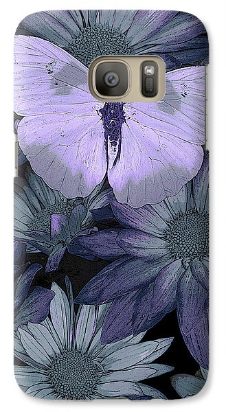 Fairy Galaxy S7 Case - Blue Butterfly by JQ Licensing