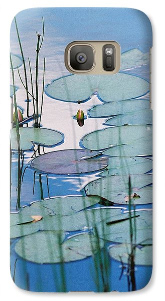 Galaxy Case featuring the photograph Blue Dreams by Doris Potter