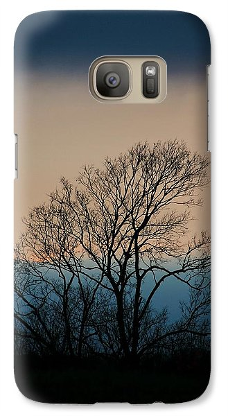 Galaxy Case featuring the photograph Blue Dusk by Chris Berry
