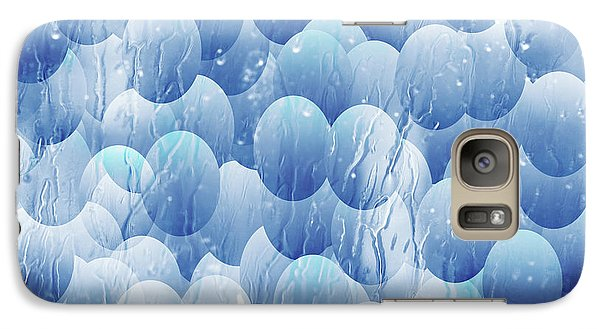 Galaxy Case featuring the photograph Blue Eggs - Abstract Background by Michal Boubin