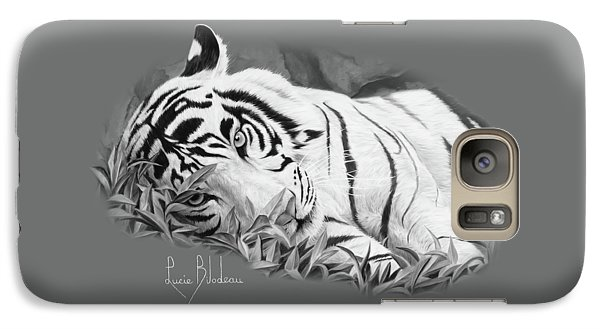 Blue Eyes - Black And White Galaxy S7 Case