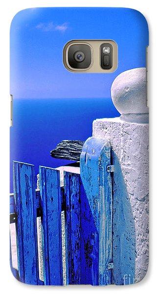 Blue Gate Galaxy S7 Case