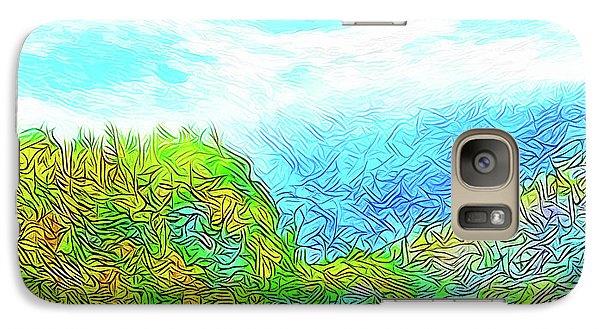 Blue Green Mountain Vista - Colorado Front Range View Galaxy S7 Case