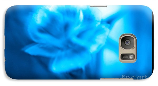 Galaxy Case featuring the photograph Blue Heaven by Cathy Dee Janes