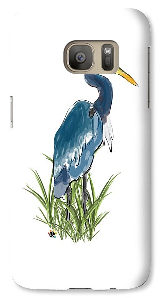 Blue Heron Galaxy S7 Case