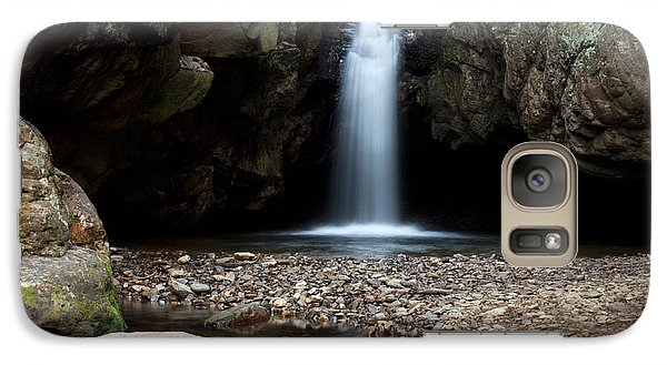 Galaxy Case featuring the photograph Blue Hole In Spring #2 by Jeff Severson