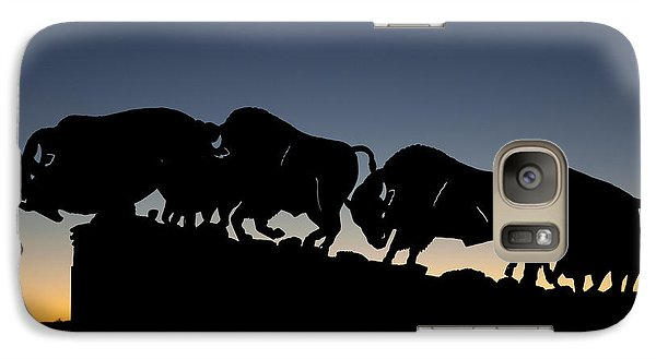 Galaxy Case featuring the photograph Blue Hour 16x20 by Melany Sarafis