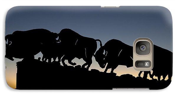 Galaxy Case featuring the photograph Blue Hour 24x20  by Melany Sarafis