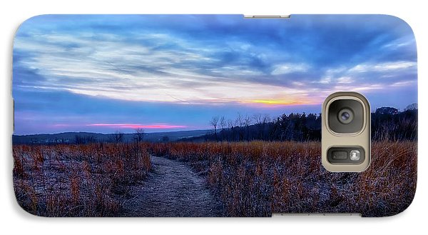 Galaxy Case featuring the photograph Blue Hour After Sunset At Retzer Nature Center by Jennifer Rondinelli Reilly - Fine Art Photography
