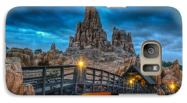 Blue Hour Over Big Thunder Mountain Galaxy S7 Case
