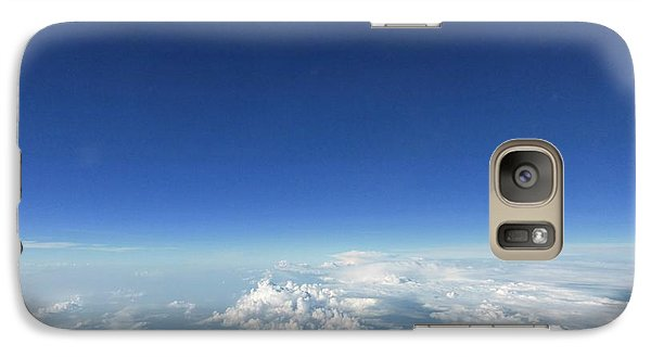 Galaxy Case featuring the photograph Blue In The Sky by AmaS Art
