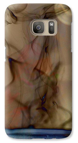 Galaxy Case featuring the photograph Blue Moon Maiden by Vicki Ferrari