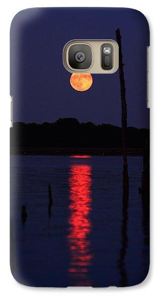 Blue Moon Galaxy S7 Case