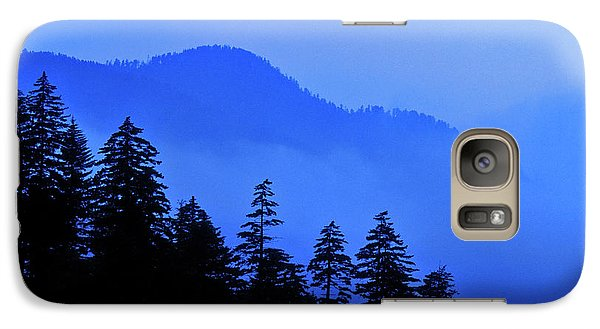 Galaxy Case featuring the photograph Blue Morning - Fs000064 by Daniel Dempster