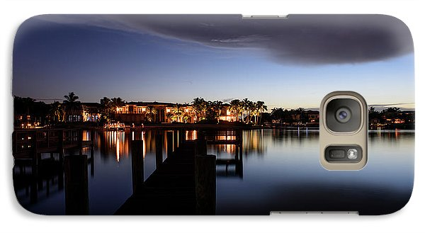 Galaxy Case featuring the photograph Blue Night by Laura Fasulo