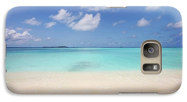 Galaxy Case featuring the photograph Blue Ocean by Jenny Rainbow