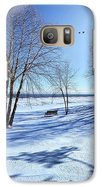 Galaxy Case featuring the photograph Blue On Blue by Phil Koch