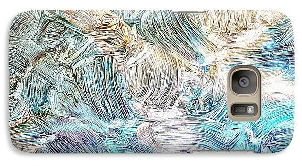 Galaxy Case featuring the photograph Blue Palette by Athala Carole Bruckner