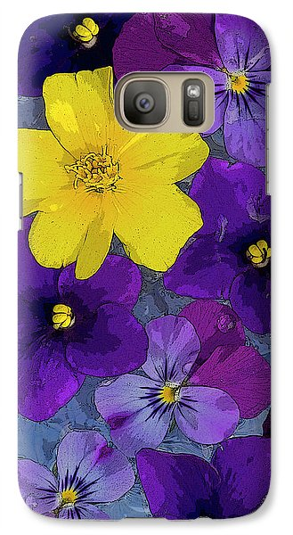 Fairy Galaxy S7 Case - Blue Pond by JQ Licensing