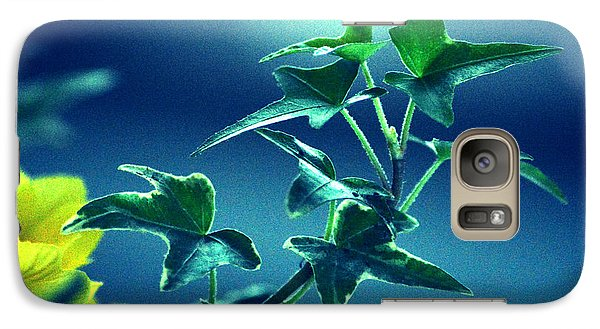 Galaxy Case featuring the photograph Blue Power  by Susanne Van Hulst