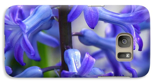 Galaxy Case featuring the photograph Blue Rhapsody by Byron Varvarigos
