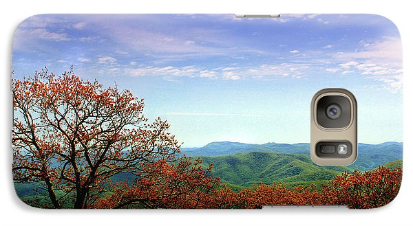 Galaxy Case featuring the photograph Blue Ridge Blessing by Jessica Brawley